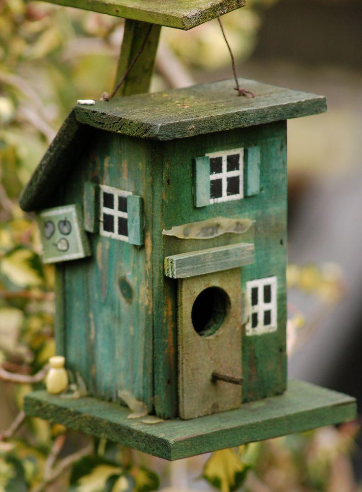 Green Birdhouse!