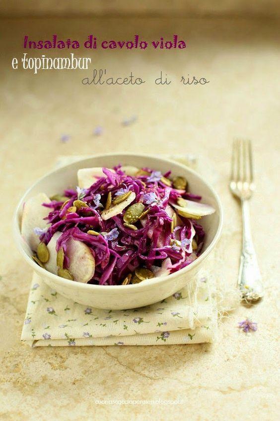 Se non avete ancora provato il cavolo viola, ve lo consiglio vivamente: cotto ha un sapore dolce e avvolgente, crudo è fresco e saporito.  I...