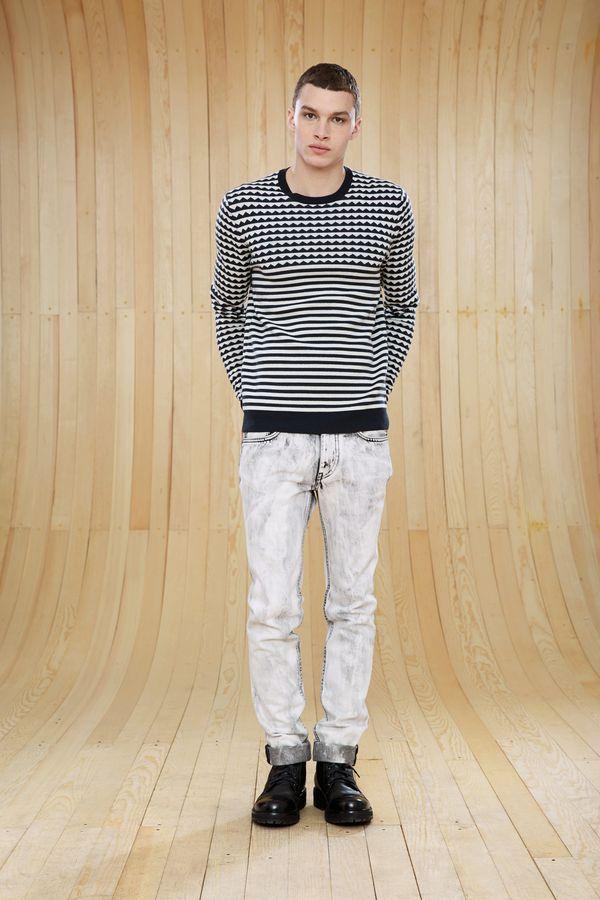 Zigzag Crewneck Sweater Marc by Marc Jacobs