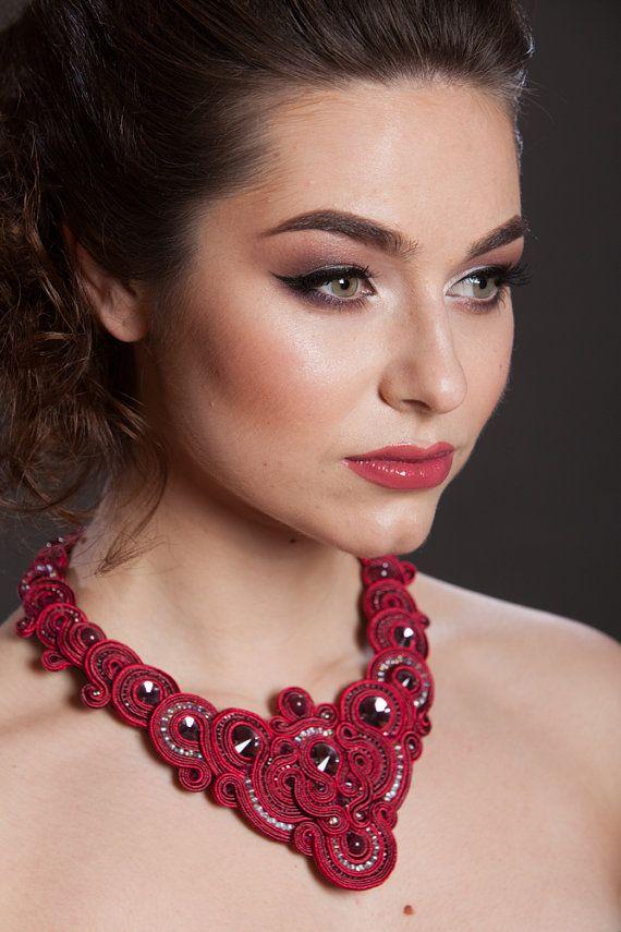 #soutache #necklace #buy