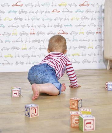 17 mejores ideas sobre papel pintado infantil en pinterest - Papel pintado infantil nino ...