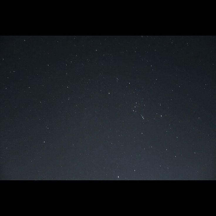 冬のいいところは星空が奇麗な事ですね今でも十分奇麗ですけど氷点下まで下がると一気に輝きを増します starry heavens #starryheavens #stars #nightview #wintersky #星空 #オリオン座 #冬の大三角形はベテルギウスとシリウスともう一個は何 #イマソラ