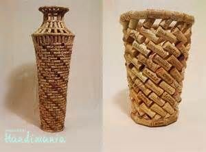 Wine Cork Vase | Cork projects