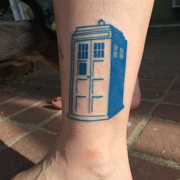 Doctor Who Tattoo By Atacoast Deviantart Com On: 1000+ Ideas About Tardis Tattoo On Pinterest