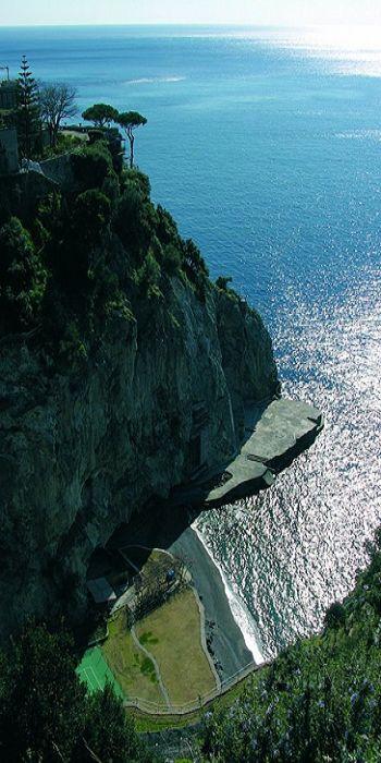 San Pietro, Positano, Italy: Positano Italy, Sanpietro, Amalfi Coast, Beautiful, San Pietro, Places, Hidden Beaches, Things Italian, Natural