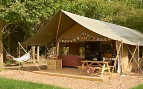 Lower Keats Farm in South Devon - 6 Fabulous Safari Tents for glamping
