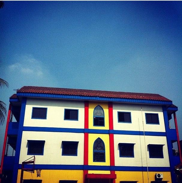 this my senior high school of santo agustinus budhaya II