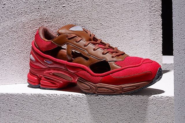 The adidas by Raf Simons RS Replicant Ozweego in Scarlet