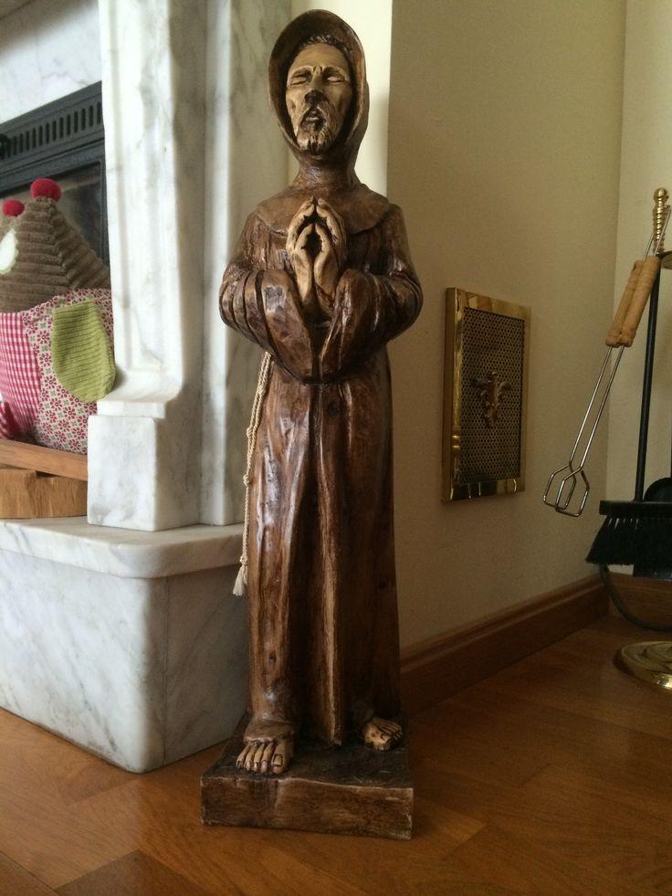 Franciscano, tallado en madera 2012
