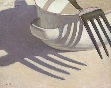 Yin & Yang on the Table by Juane Xue