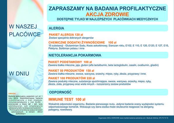 MedLab Akcja Zdrowie