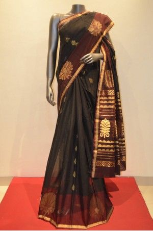 Elegant Cotton Silk Saree With Fancy Border     Product Code: CSJF01148
