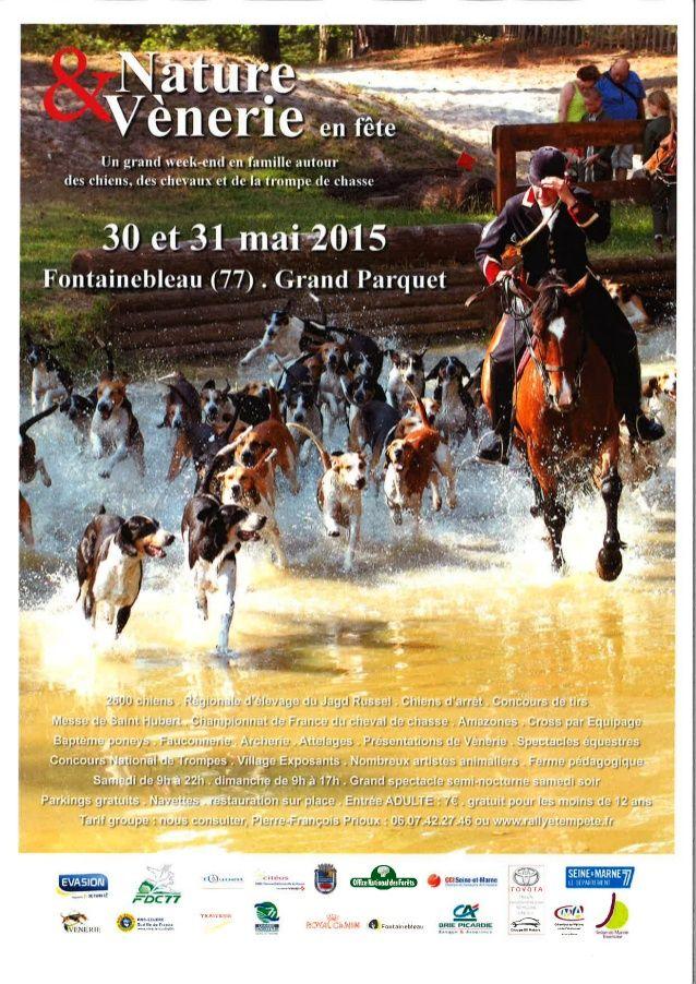 Nature et venerie en fête à fontainebleau les 30 et 31 mai 2015  #equitation #chasse à courre #venerie