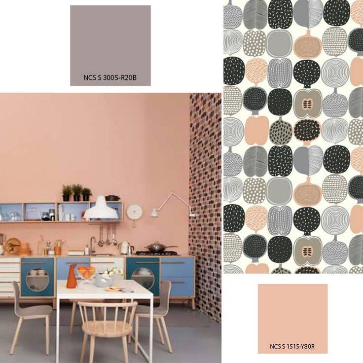 7 migliori immagini pareti creative creative walls su for Pareti rosa cipria