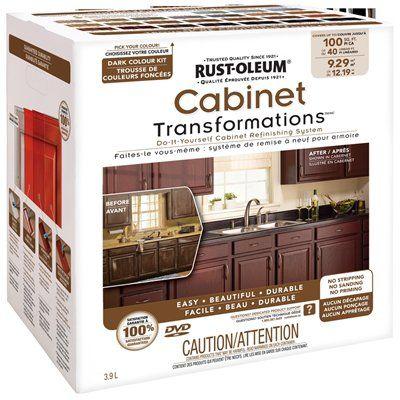 Rust-Oleum Exterior Gloss Dark Cabinet Transformation Kit ...