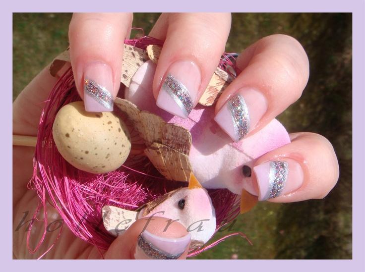 #klebefieber   auch die Nägel haben Frühlingsgefühle :-)