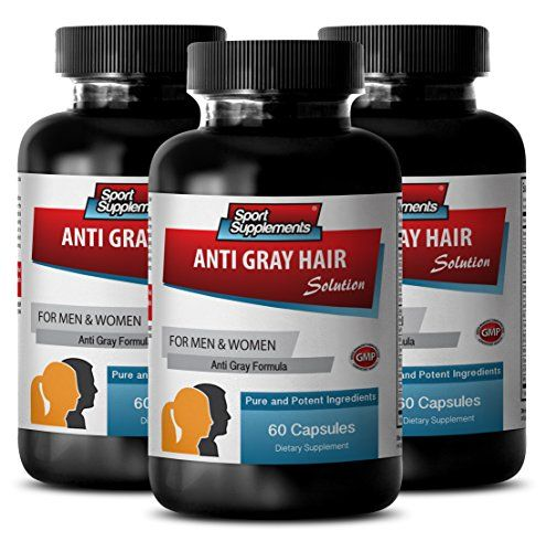 Gray hair care - ANTI GRAY HAIR NATURAL FORMULA for Men and Women - Fo ti powder, Chlorophyll, Biotin hair health, Saw palmetto - 3 Bottles 180 Capsules     Tag a friend who would love this!     $ FREE Shipping Worldwide     Buy one here---> http://herbalsupplements.pro/product/gray-hair-care-anti-gray-hair-natural-formula-for-men-and-women-fo-ti-powder-chlorophyll-biotin-hair-health-saw-palmetto-3-bottles-180-capsules/    #herbalsupplements #supplements  #healthylife #herbs