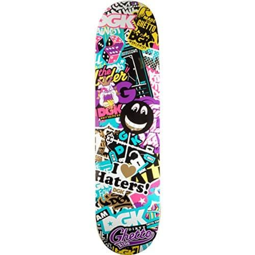 "DGK Skateboards Trippy Collage Team Skateboard Deck – 7.8″ x 32″: Deck Size: 7.8"" width x 32"" length DGK Skateboards Trippy Collage Team…"