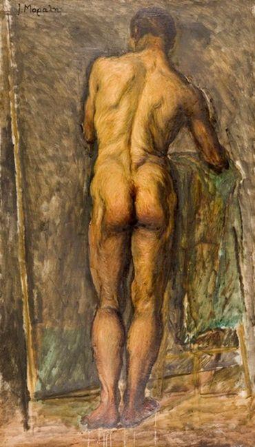 Yannis Moralis - Naked male