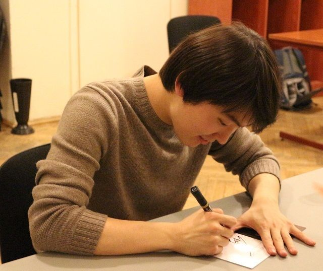Seong-jin Cho(the winner of 2015 Chopin piano competition)