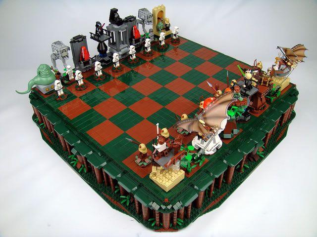Des échiquiers Lego StarWars  (3)