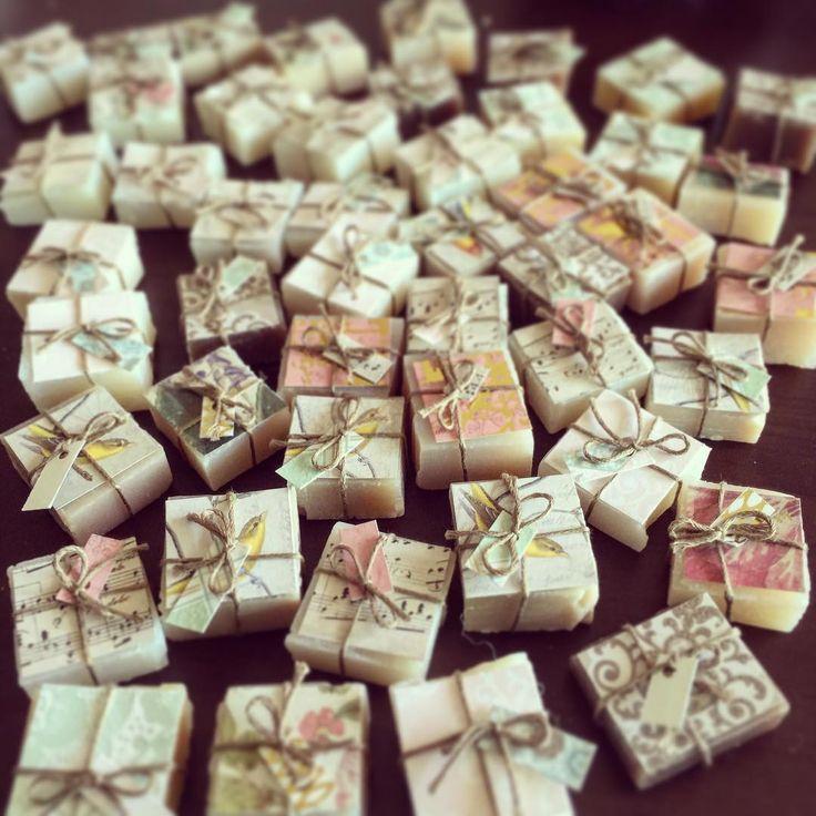 #handmade #soap #Its_Coco_Time #weddingfavors #beanaretto