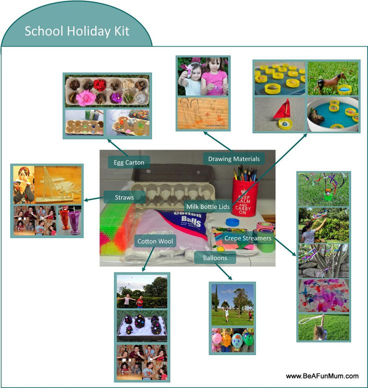Make a School Holiday Kit