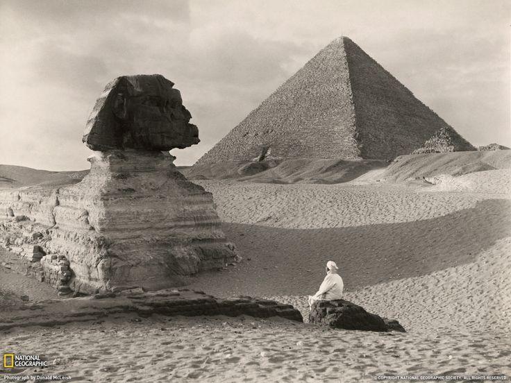 Great Sphinx, Egypt(1921)