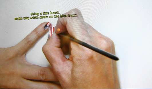 Yaima Carrazana, Jasper Johns, Nail Polish Tutorial, 2010