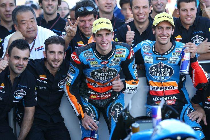 A.MArquez, Rins, Moto3 race, San MArino MotoGP 2014
