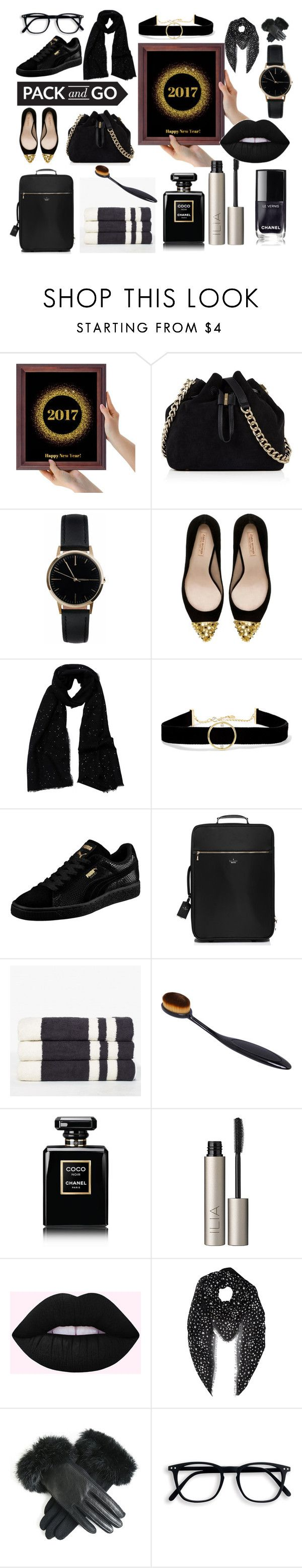 Pack and go by oldcastlechrista on Polyvore featuring Zara, Puma, Kate Spade, Karen Millen, Anissa Kermiche, Freedom To Exist, Yves Saint Laurent, Tilo, Ilia and Chanel