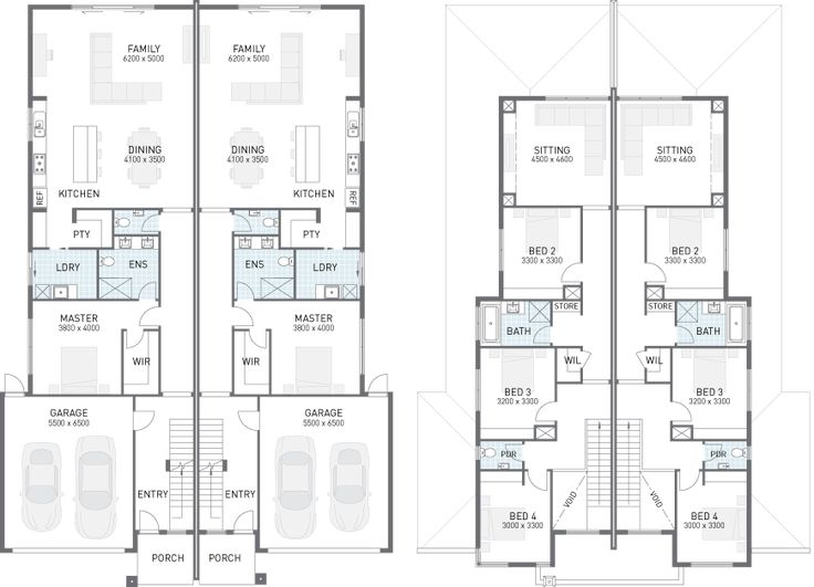 dual occupancy house plans google search pinterest