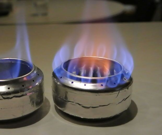 Improved Soda Can Stove