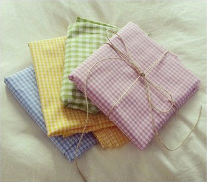 Table Cloth  Cotton checked by MascandFemme on Etsy, $30.00