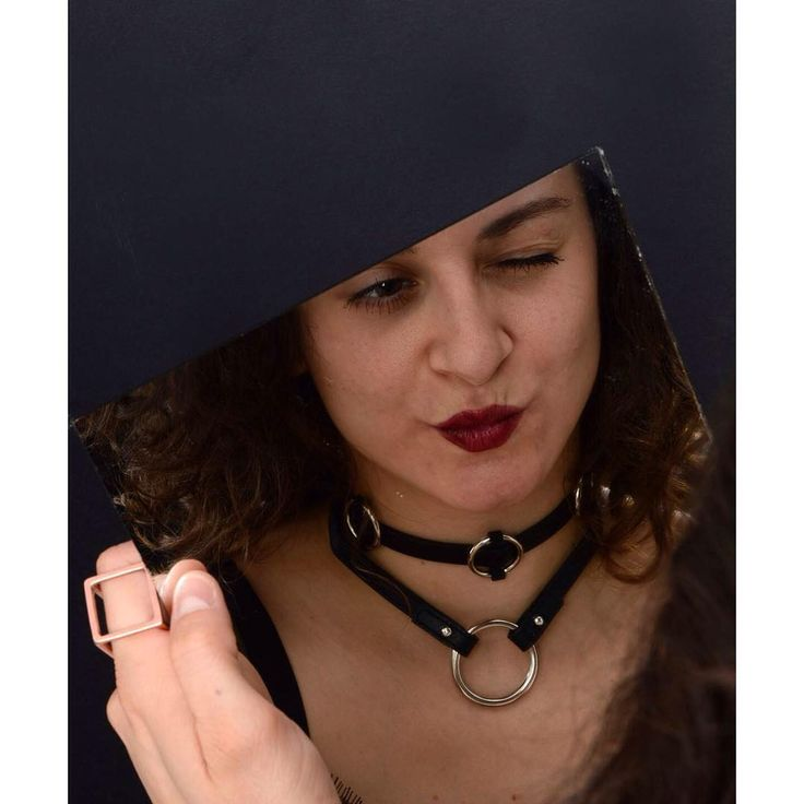Friday night fever  Awsome leather chocker in the 90's style for a hard party.  #szputnyikshop #necklace