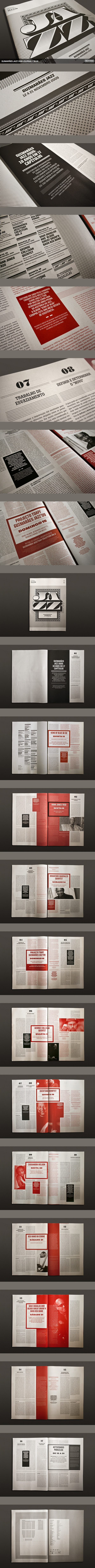 The Jazz 09 Journal by Atelier Martinoña , via Behance