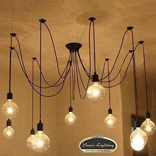 coquimbo luces araa colgante de la vendimia iluminacin de techo de la vendimia del estilo