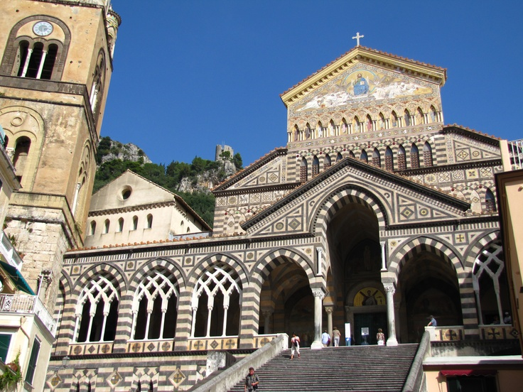 The Amalfi cathedral. The crypts are really worthwhile.