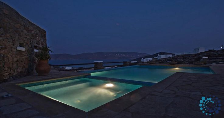 "Welcome to the ""Villa Anassa"" in Mykonos, Greece. Your #luxury #villa #rent #greece #greek #island #vacances #grece #mygreekvilla #alouer"