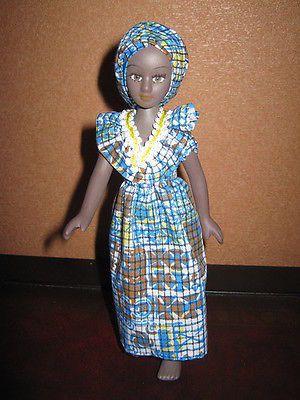 Doll-in-national-costume-Mali-DeAgostini-porcelain-doll