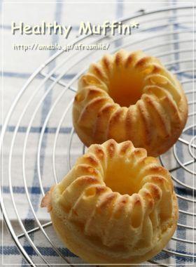 「ヘルシーレシピ 米粉入りヘルシーマフィン」SAG   お菓子・パンのレシピや作り方【corecle*コレクル】