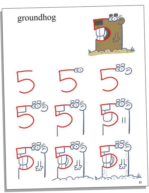 Resultado de imagem para Learning numbers cartoon funny animals