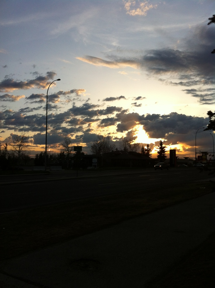 Sunrise in May!!!
