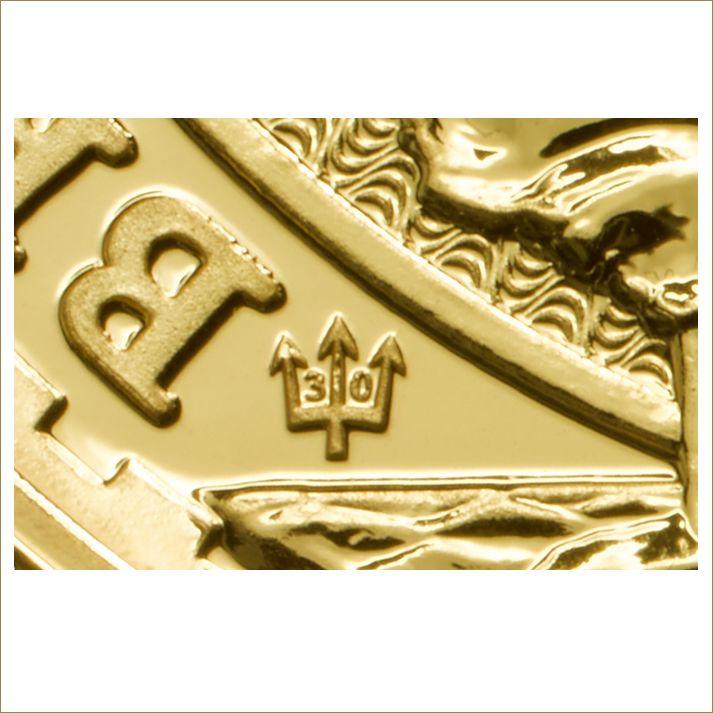 Britannia Jubiläumsausgabe 2017 incl. Dreizack mit einer 30 - Gold kaufen für Clevere