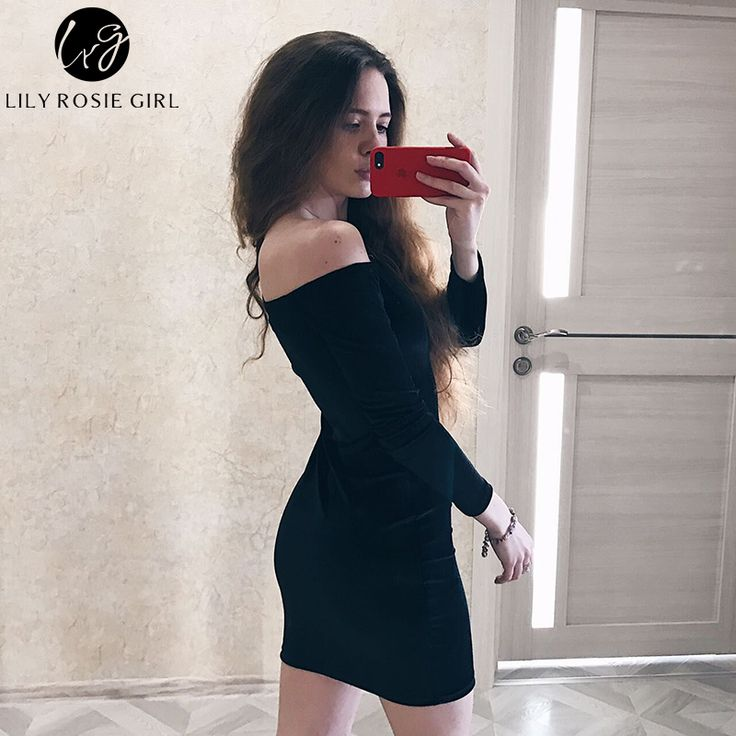 Sexy Off Shoulder Wine Red Sheath Velvet Dress Women Winter Party Long Sleeve 2016 Elegant Pencil Bodycon Ladies Dress Vestidos - Affiliate Win
