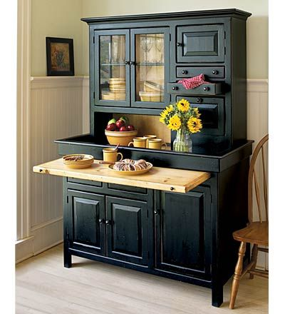 Large Conestoga Cupboard Inspired By Hoosier Style Farm Kitchens Pull Out Serving Shelf Dry Sink Top And Glass Door Cabinets To Display Your Favorite