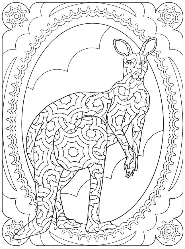 coloring pages city wildlife - photo#48