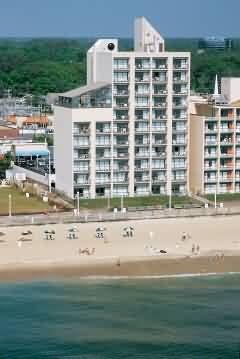 Dolphin Inn On The Ocean - Virginia Beach cheap on the beach hotel