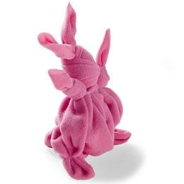 Make these out of muslin...add a simple face and they are adorable for Easter give-aways!