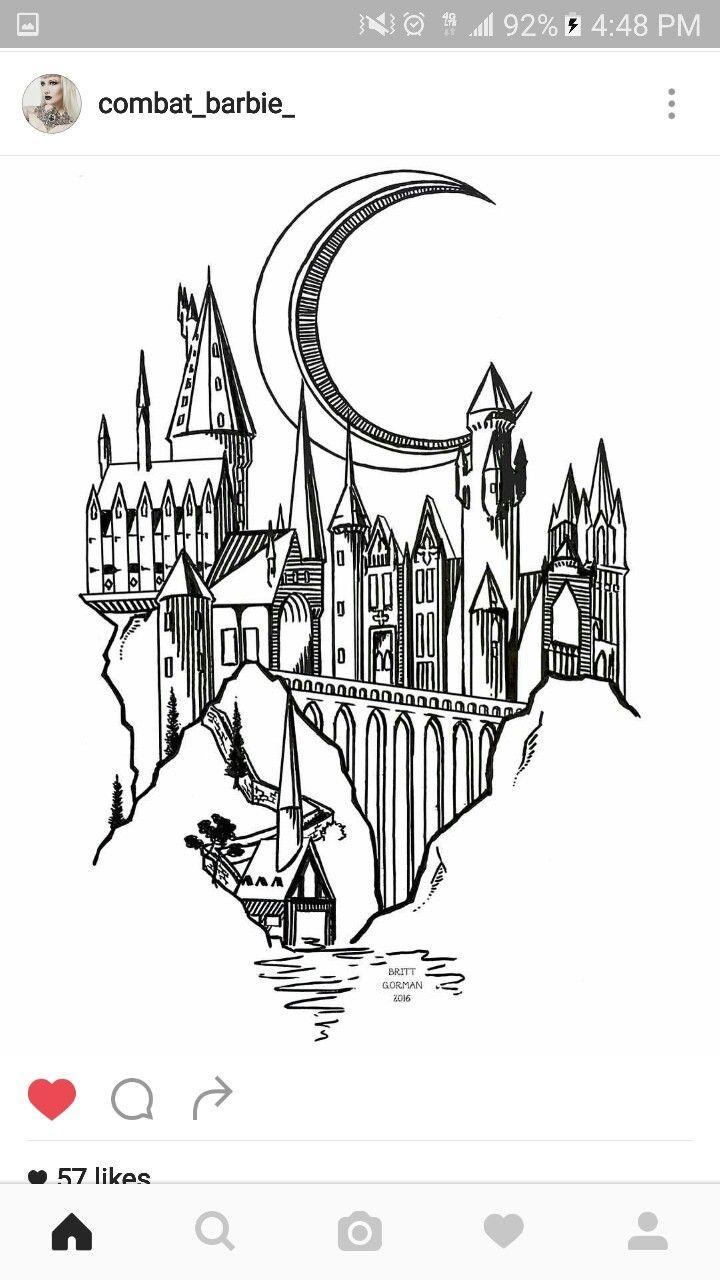 Hogwarts tattoo Plus